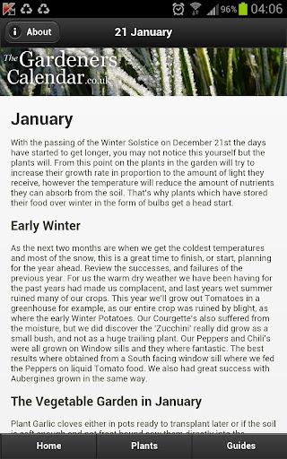 【免費生活App】Gardeners Calendar-APP點子