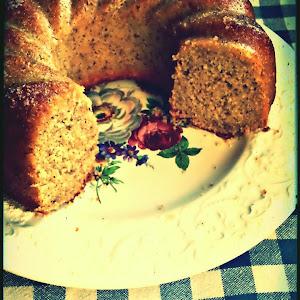 Barley and Hazelnut Bundt Cake
