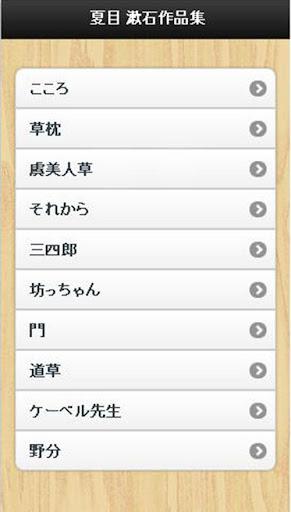 夏目 漱石作品集