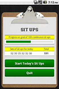 Sit Ups- screenshot thumbnail