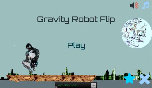 Gravity Robot Flip