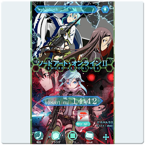 个人化のソードアート・オンラインⅡ(アニメ)きせかえテーマ1 LOGO-記事Game