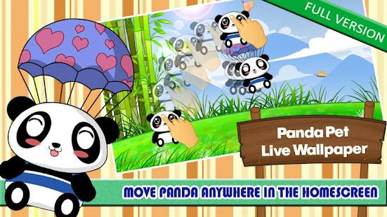 Panda Pet Live Wallpaper Free - screenshot thumbnail
