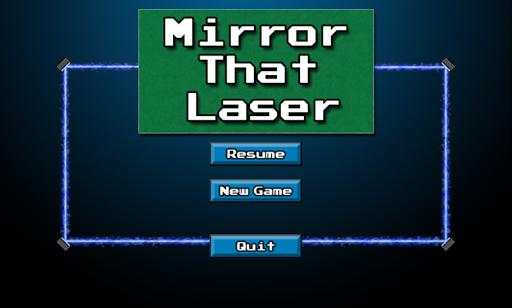 Mirror That Laser