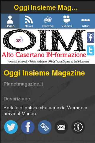 Oggi Insieme Magazine