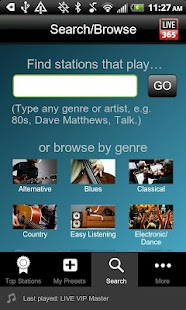 Live365 Radio - screenshot thumbnail