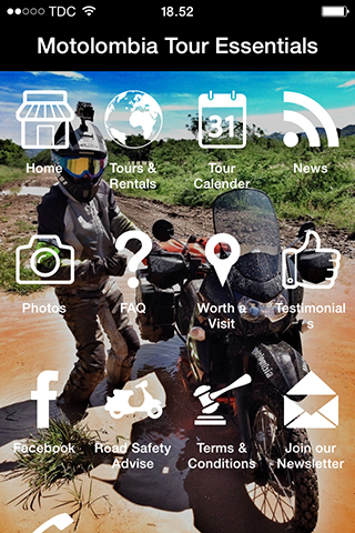 【免費旅遊App】Motolombia Tour Essentials-APP點子