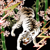 Live Wallpaper White tiger
