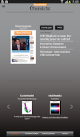 Screenshot of Handelsblatt Live