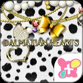 ★FREE THEMES★Dalmatian Hearts