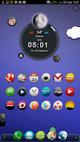 Screenshot of TSF Shell Theme Tfou HD