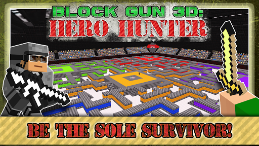 Block Gun 3D: Hero Hunter