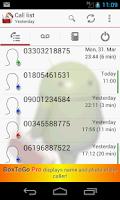 Screenshot of BoxToGo Free