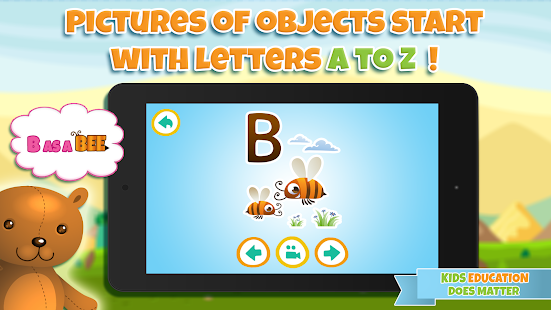 Learn alphabet & learn letters- screenshot thumbnail