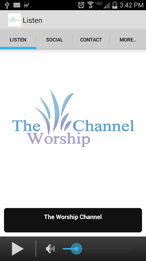 The Worship Channel- screenshot