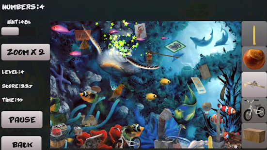 水族馆。隐藏的对象 休閒 App-癮科技App