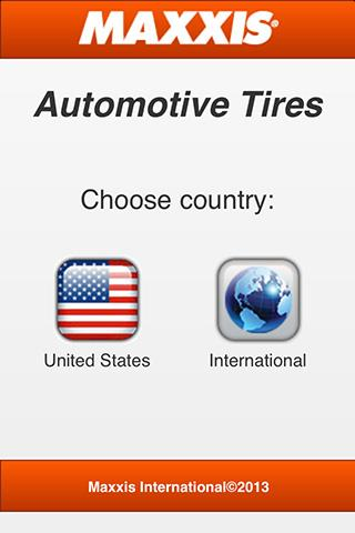 Maxxis Automotive Tires - screenshot