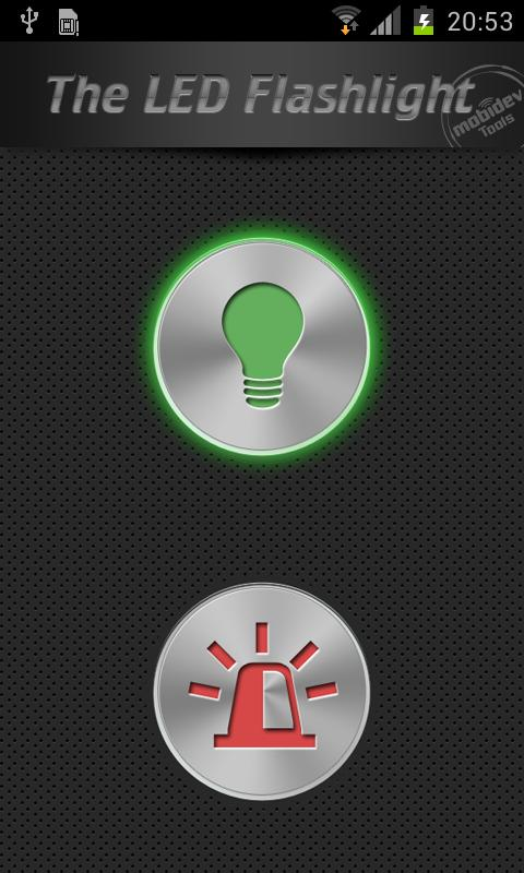 The LED Flashlight (+Widgets) - screenshot