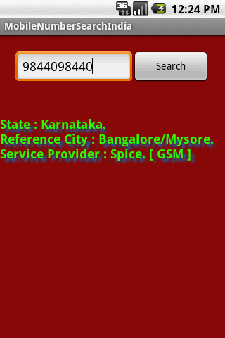 Mobile Number Tracker India - screenshot