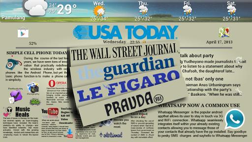 免費下載個人化APP|Newspaper 1 Theme ssLauncher app開箱文|APP開箱王