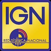 IGN Sismologia