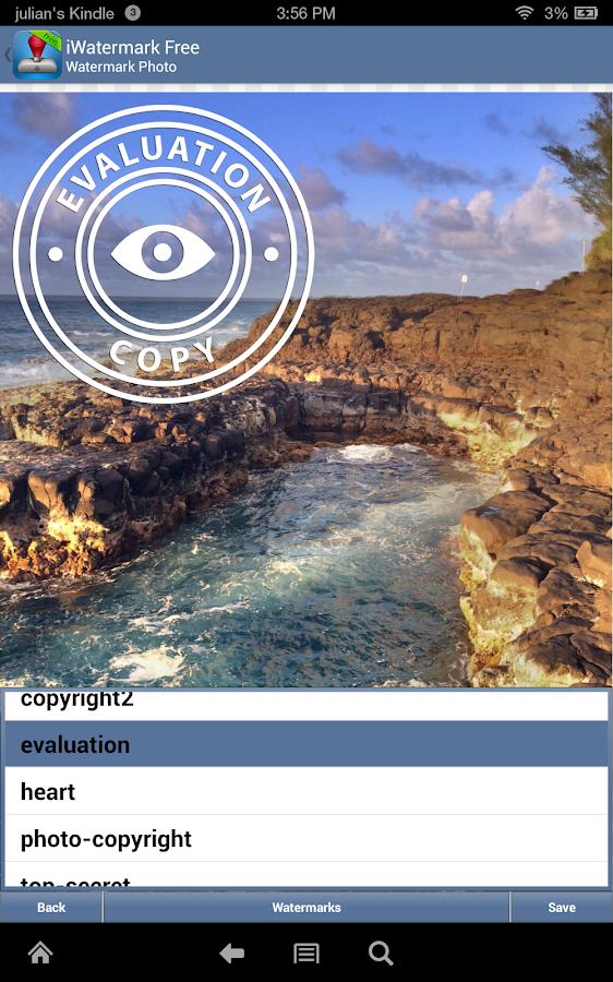 iWatermark - screenshot