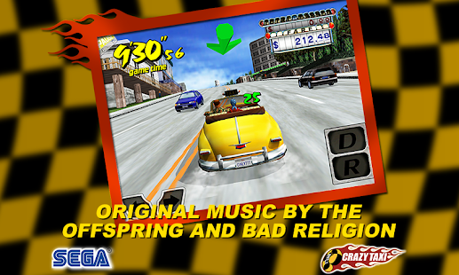 Crazy Taxi Classic™ Screenshot 1