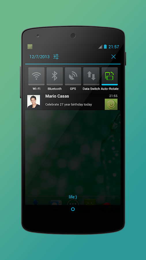 Birthday App- screenshot