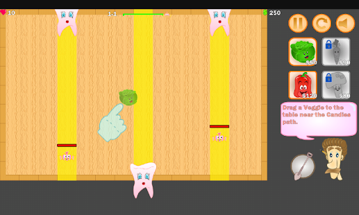 Candy vs Veggies screenshot