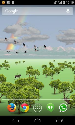 Birds Flying Free LWP