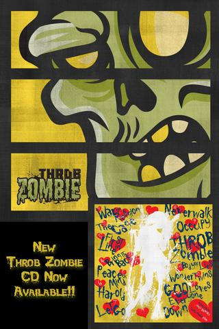 Throb Zombie - screenshot