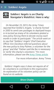 Charity Navigator- screenshot thumbnail