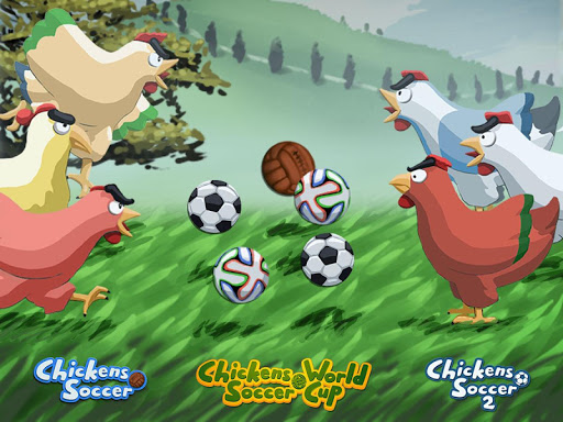 Chickens Soccer World Cup