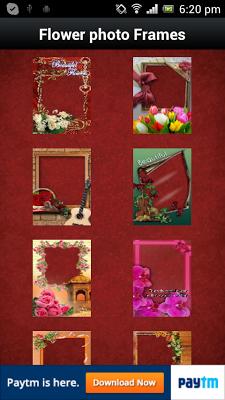 Flower Photo Frames - screenshot