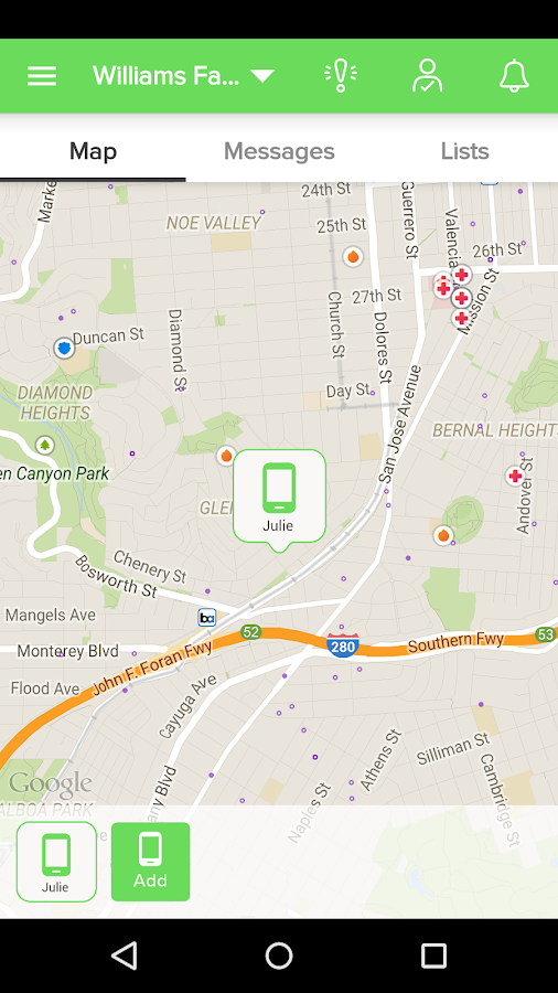 Screenshots of Find My Lost Phone for iPhone