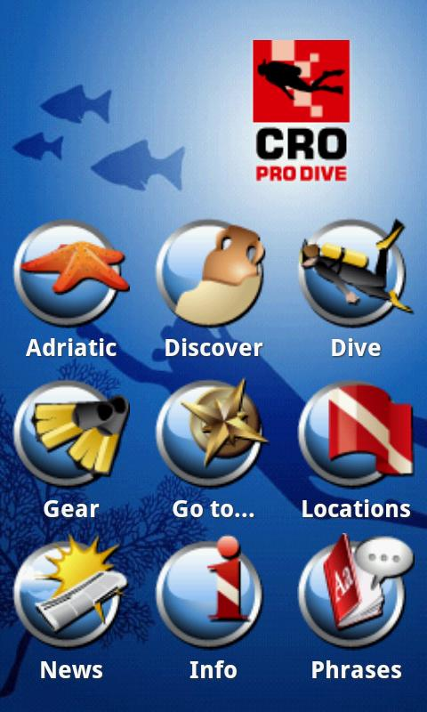 mX Diving Croatia - Top Guide- screenshot