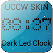 Dark Led Clock UCCW SKIN