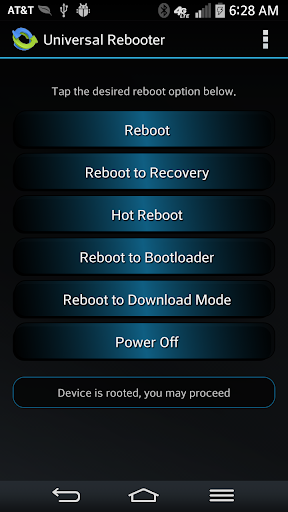 Universal Rebooter