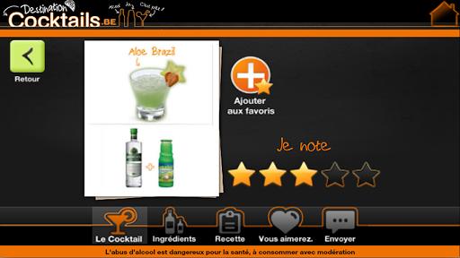 Destination Cocktails Belgique 1.0.1 screenshots 2