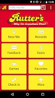 Screenshot of Rutter's Deals App