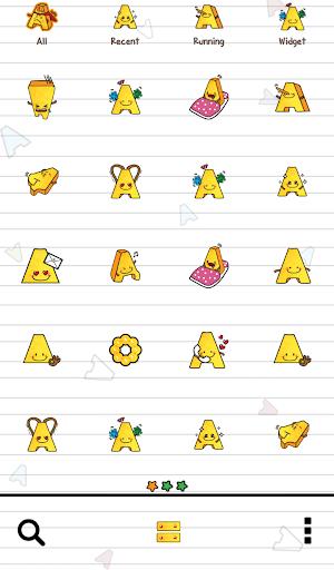【免費個人化App】알파벳프랜즈(알파맨) 도돌런처 테마-APP點子