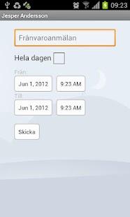 Dexter App– miniatyr av skärmdump