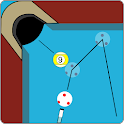 Billard Aiming Calculator Pro icon