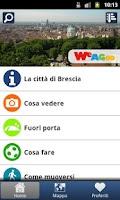 Screenshot of Brescia una guida utile