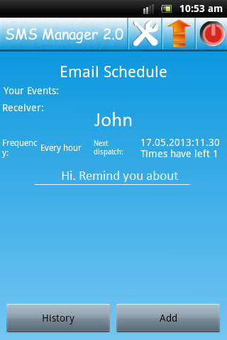 E-mail Scheduler