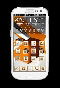 OranjeCarbon Icon CM&Launchers v1.0