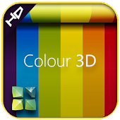 Colour 3d next launcher theme