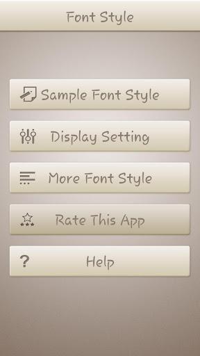 Stylish Font Style