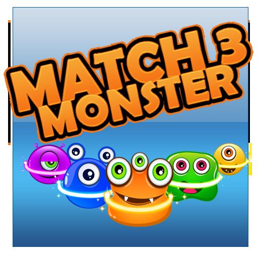 Flurry Monster Match 3 休閒 App LOGO-硬是要APP