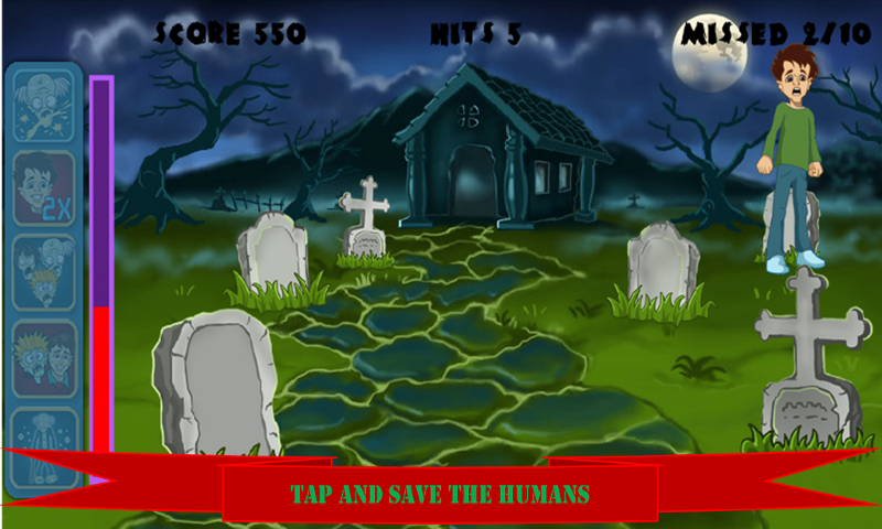 Whack the Zombies : Smash Hit - screenshot